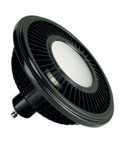 LED ES111 noir 17,5W 140° 2700K variable