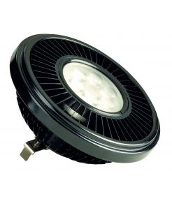 LED QRB111 noir 19,5W 30° 2700K variable