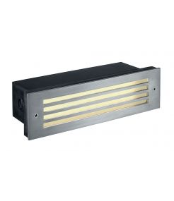 BRICK MESH LED INOX 316, encastré MUR, 4W LED, blanc chaud, IP54