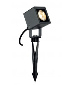 spot NAUTILUS SQUARE LED carré, anthracite, 6,7W, 3000K