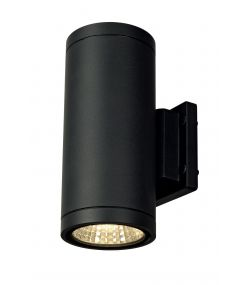 Applique ENOLA C OUT UP-DOWN rond anthracite 9W LED 3000K