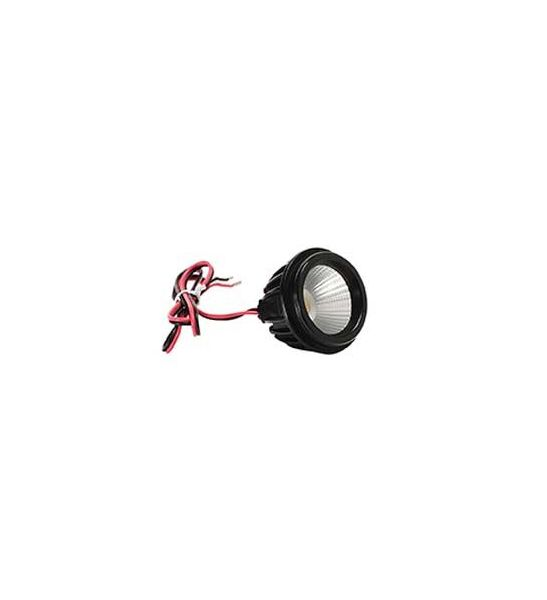Module LED, DIM-TO-WARM, QPAR51, 40°, 2000K-2800K, noir, 500lm