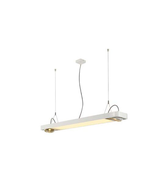suspension led blanche AIXLIGHT R2 OFFICE LED + 2xES111, max. 75W