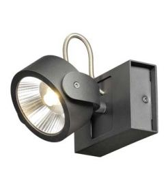 KALU LED 1 applique/plafonnier, noir, LED 17W, 3000K, 60 degres