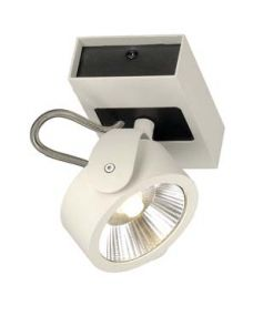 KALU LED 1 applique/plafonnier, blanc/noir, LED 17W, 3000K, 60 degres