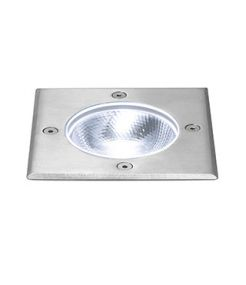 ROCCI 125 CARRE 6W LED, encastre de sol ext., Inox 316, LED 4000K IP67