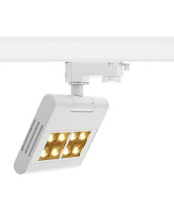 LENITO TRACK, blanc, LED 23W, 3000K, adaptateur 3 all inclus