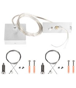 Kit de suspension TEC KALU, blanc