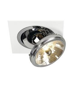 Spot Encastrable 12v Rond Chrome Cmh Downlight qrb111