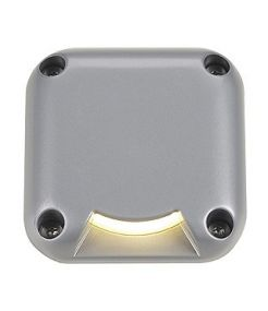 Led plot carre, 1 fenetre, gris argent