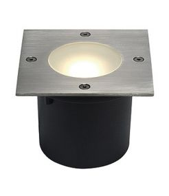 Wetsy led disk 300, carre, inox, 9w, 2700k