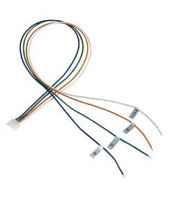 Cable d'alimentation pour bandeau led rgb, 50cm, 2 pieces