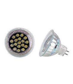 Mr16 led, avec 18 led blanc chaud, 12v