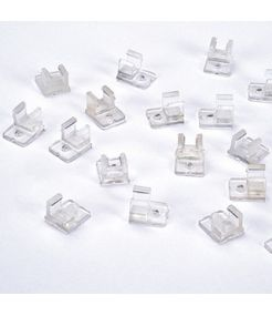 Clips pour ruban led superflux, 100 pces, ip55