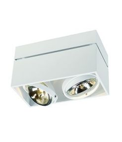 KARDAMODE SURFACE CARRE QRB DOUBLE, BLANC, max. 2x75W