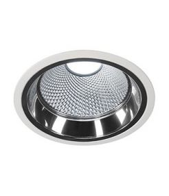 LED DOWNLIGHT PRO R, ROND, BLANC, MODULE FORTIMO LED DISC INCLUS, 4000