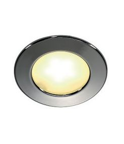 Encastré rond chrome DL 126 LED, 3W LED, blanc chaud, 12V