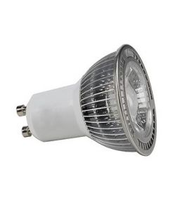 GU10 LED 5W, BLANCHE, 60°, NON VARIABLE